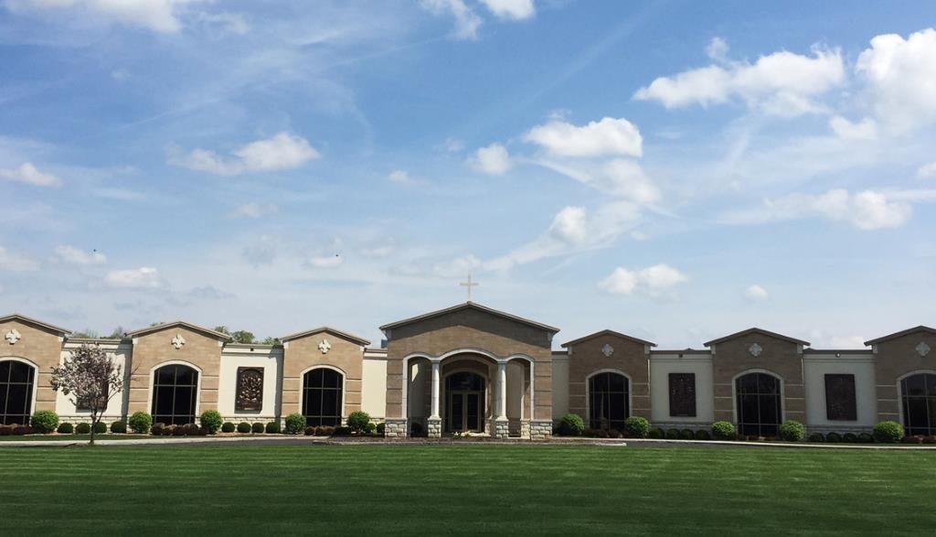Ascension Garden mausoleum